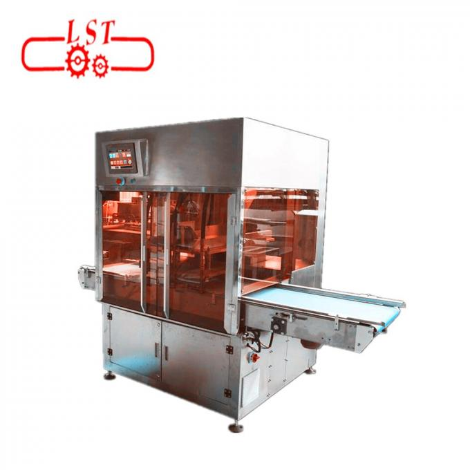 SSS304 Material Chocolate Injection Machine For Chocolate Cups 1 Year Warranty