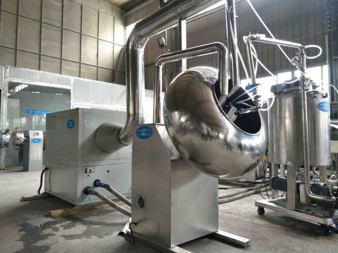 SSS304 Material Automatic Chocolate Making Machine For Sugarcoat Tablets And Pills