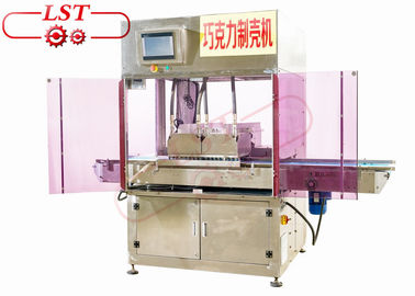 China SSS304 Material Chocolate Injection Machine For Chocolate Cups 1 Year Warranty supplier