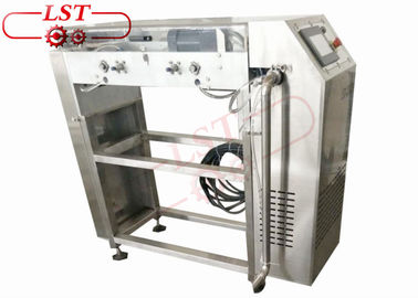 Stainless Steel Chocolate Chips Depositor Machine With Air Cooling Tunnels