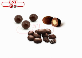 LST Belt Chocolate Coating Machine , Large Output Chocolate Polishing Machine