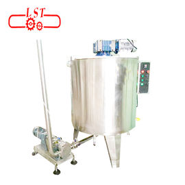China 500L Capacity Chocolate Tempering Machine For Biscuit / Cake / Dessert supplier