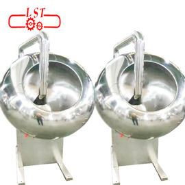 SSS304 Material Chocolate Panning Machine With Speed - Adjustable Motor