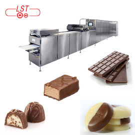 China PLC Controlled Chocolate Production Line For Chocolate Bar With Servo System supplier