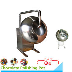 Tablet Pill Chocolate Making Equipment Nuts Peanuts Coating Pan Long Life